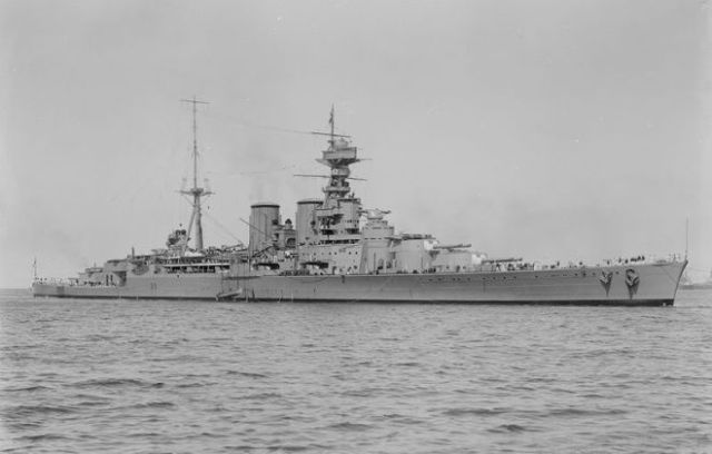 Chiếc HMS Hood, ra mắt vào năm 1918, là chiếc tầu tuần dương chủ lực đầu tiên được hoàn thành vào cuối Chiến tranh thế giới I